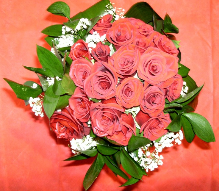 Bouquet con rose