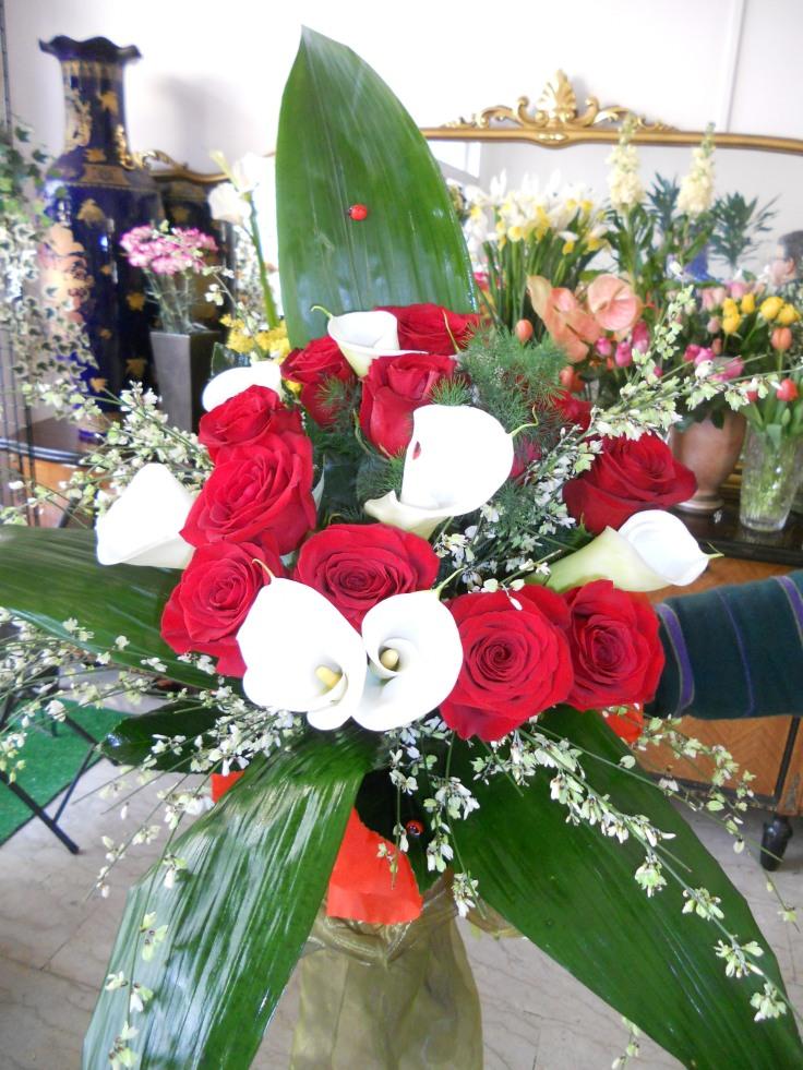 Un bouquet speciale per un anniversario speciale.