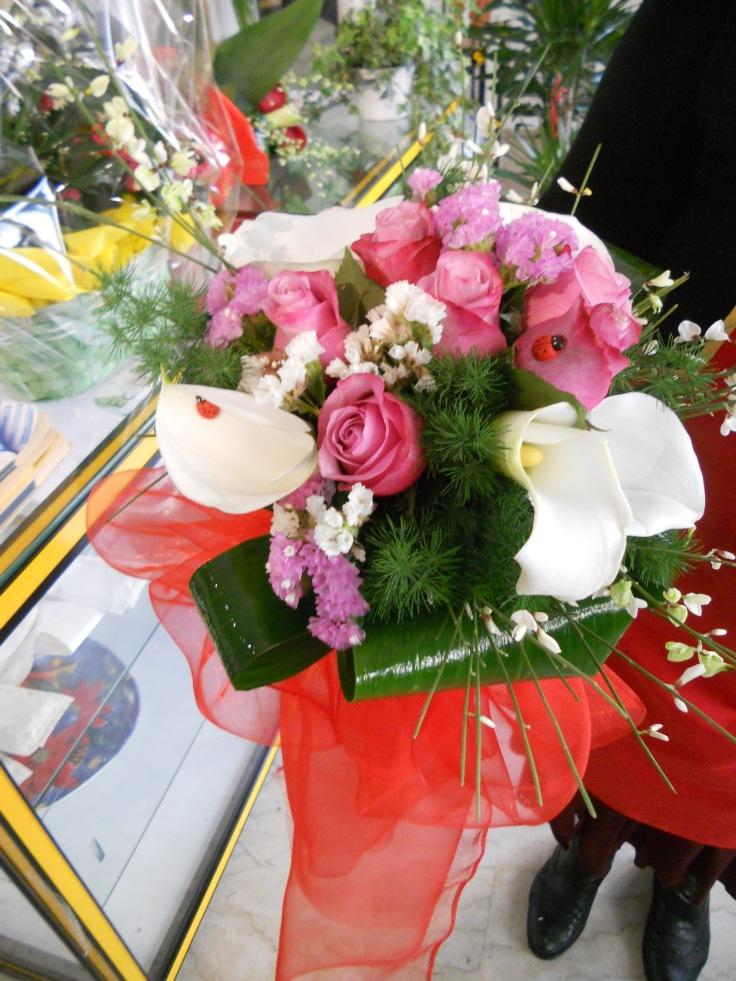 E' tempo di lauree : un bouquet per un pensiero originale.