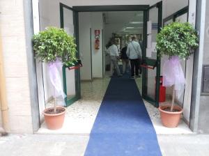L'ingresso al comune