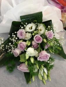 Il bouquet officiante per il delegato del comune