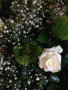 A casa della sposa: composizione floreale (particolare)