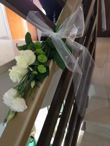 A casa della sposa: il passamano (particolare)