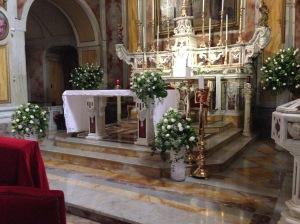 L'altare di San Pasquale